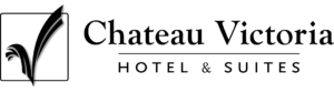 Chateau Victoria Logo Black Horizontal