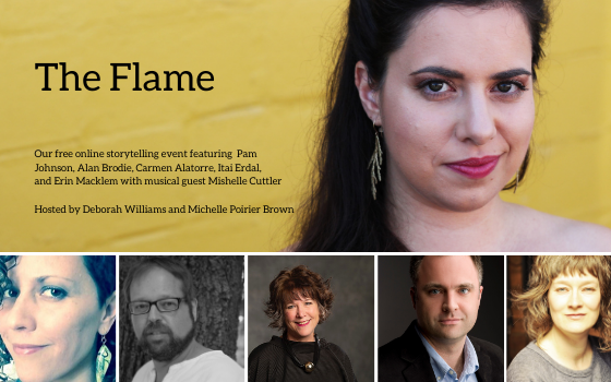 Video – The Flame – Stories from Theatre Designers