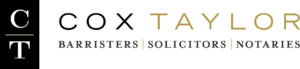 the logo for Cox Taylor